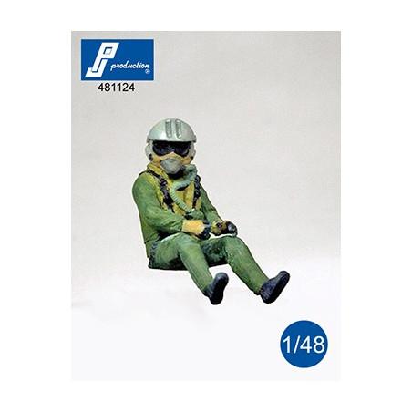 481124 - Pilote Rafale assis aux commandes