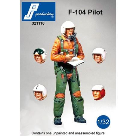 321116 - F-104 pilot standing
