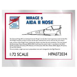 HPA72034-Nez Mirage 5 Aida II