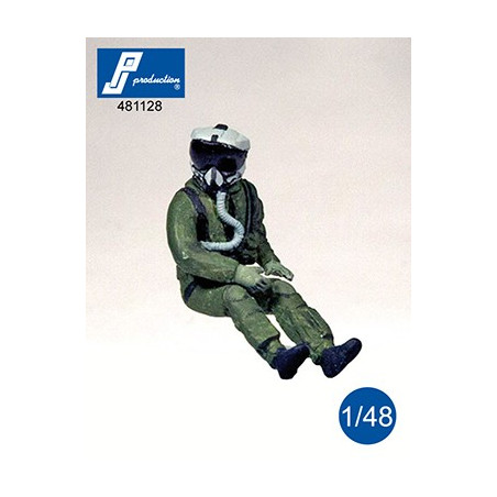 481128 - Pilote US avec casque JHMCS assis aux commandes