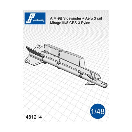 481214 - AIM-9B Sidewinder avec supports