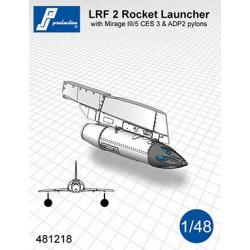 481218 - Lance roquettes LRF 2 avec pylône