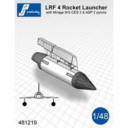 481219 - Lance roquettes LRF 4 avec pylônes