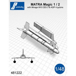 481222 - MATRA Magic 1/2 avec supports