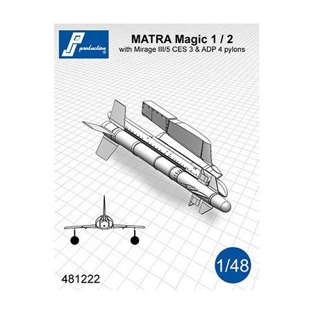 481222 - MATRA Magic 1/2 avec supports