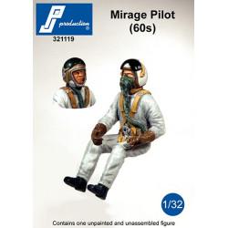 321119 - Pilote Mirage (années 60)