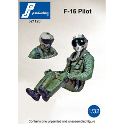 321120 - F-16 Pilot seated in a/c