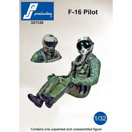 321120 - F-16 Pilot seated in a/c