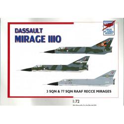 HPK72112 - Dassault Mirage IIIO RAAF 3 & 77Sqn Recce