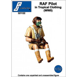 321122 - RAF Pilot in Tropical Clothing (WWII)
