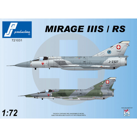 721031 - Mirage IIIS/RS