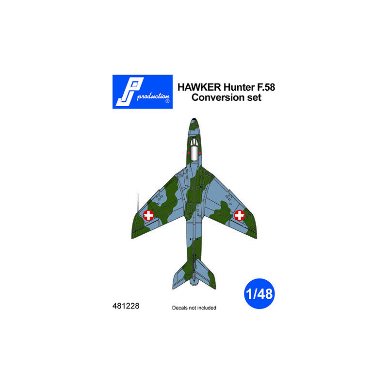 481228 - Hawker Hunter F.58 Conversion Kit