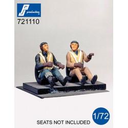 721110 - Pilotes allemands...
