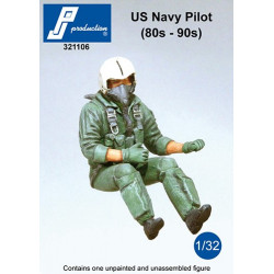 321106 - Pilote USNavy assis (80' - 90')
