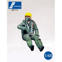 481113 - F-104 pilot seated...