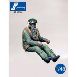 481118 - NATO Pilot seated...